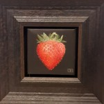 Dani Humberstone, Red Strawberry, Original oil painting