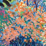 Dazzle Original Painting by Rosemary Farrer Detail1