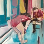 Eleanor Woolley |  Dressing | Figurative | Expressionistic