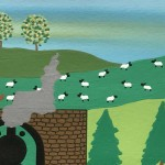 Gordon Barker. Out In The Countryside, Landscape Art 8