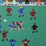 Gordon Barker. Streakers On The Pitch, Landscape Art 14