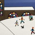 Gordon Barker. Watching The Humans, Landscape Art 10
