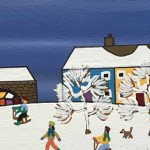 Gordon Barker. Watching The Humans, Landscape Art 5