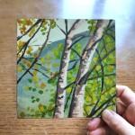 Grasmere Birches study 2 scale