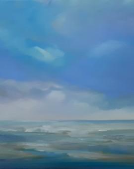Helen Robinson Tranquillity Original Seascape Painting (7)