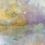 Hiroko Lewis Reflected Stillness III Detail 1 Wychwood Art