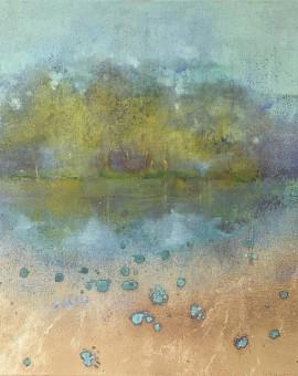 Hiroko Lewis Reflected Stillness III Main Wychwood Art