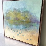 Hiroko Lewis Reflected Stillness III Side Wychwood Art