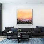 5 Sophie Berger – Go Floral- Oil on canvas – 100 x 100 cm