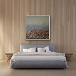Sophie Berger – together we go – 100 x 100 cm – oil on canvas – in situ