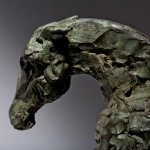 Jane Shaw Long Day Irish Hunter Horse Bronze Animal Sculpture Wychwood Art 4