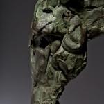 Jane Shaw Long Day Irish Hunter Horse Bronze Animal Sculpture Wychwood Art 6