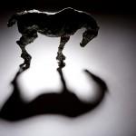 Jane Shaw Long Day Irish Hunter Horse Bronze Animal Sculpture Wychwood Art 8