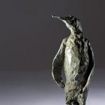 Jane Shaw Proud King Penguin Bronze Resin Sculpture Wychwood Art 4