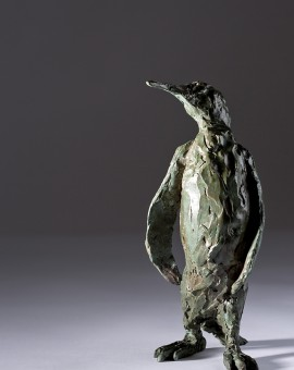 Jane Shaw Proud King Penguin Bronze Resin Sculpture Wychwood Art 4