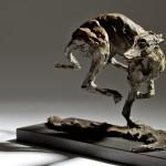 Jane Shaw Speed Racing Greyhound Bronze Animal Sculpture Wychood Art 10