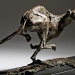 Jane Shaw Speed Racing Greyhound Bronze Animal Sculpture Wychwood Art 11