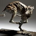 Jane Shaw Speed Racing Greyhound Bronze Animal Sculpture Wychwood Art 12