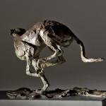 Jane Shaw Speed Racing Greyhound Bronze Animal Sculpture Wychwood Art 13