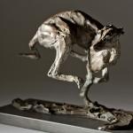 Jane Shaw Speed Racing Greyhound Bronze Animal Sculpture Wychwood Art 14