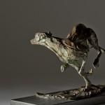Jane Shaw Speed Racing Greyhound Bronze Animal  Sculpture Wychwwod Art 1