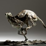 Jane Shaw Speed Racing greyhound Bronze animal Sculpture Wychwood Art 6
