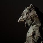 Jane Shaw Standing Proud Cockerel Bronze Resin Sculpture Wychwood Art 7