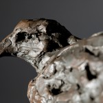 Jane Shaw Watching You A Harris Hawk Bronze Resin Sculpture Wychwood Art 7