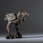 Jane Shaw Watching You A Harris Hawk Bronze Resin Sculpture Wychwood Art 9