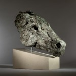 Jane Shaw Wild Head of a Horse Bronze Resin Animal Sculpture Wychwood Art 7
