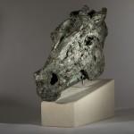 Jane Shaw Wild Head of a Horse Bronze Resin Animal Sculpture Wychwood Art 8