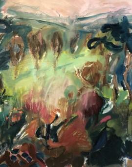 Jemma Powell, Pink Cotswold Sunset 2