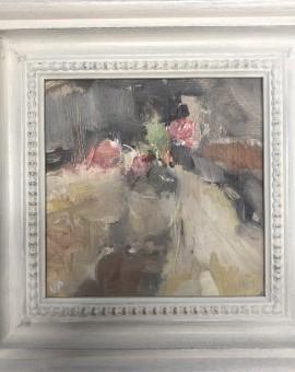Jemma Powell, Roses in a Glass Bottle 2