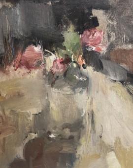 Jemma Powell, Roses in a Glass Bottle
