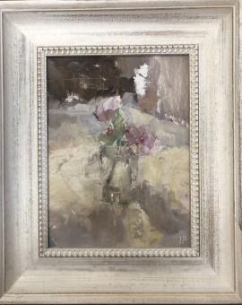 Jemma Powell, Roses in a Glass Bottle II 2