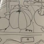 Jemma Powell, Still Life with Pumpkin 6