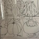 Jemma Powell, Still Life with Pumpkin