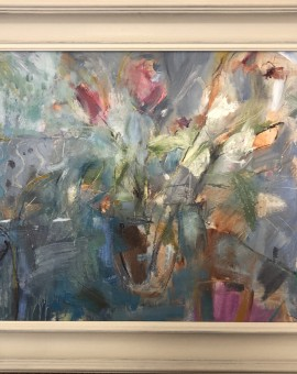 Jemma Powell, Tulips by the Window