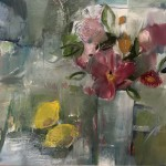 Jemma Powell, Vase and flowers with a Red Tulip 2