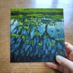 Lakeside Puddle study 1 scale