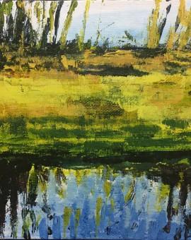 Lakeside Puddles study 1