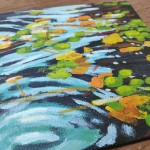 Lilies and Ripples study 1 close up