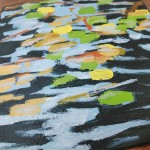 Lilies and Ripples study 2 close up