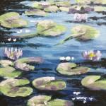 Lily Pond study 1