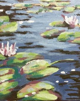 Lily Pond study 2