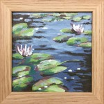 Lily Pond study 2 - Alexandra Buckle