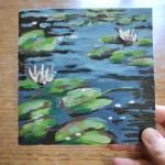 Lily Pond study 2 scale