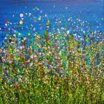 Lucy_Moore_Midnight_Meadow_Flourish_#3_Original_Landscape_Painting