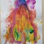 Melted Rocket, Gavin Dobson, Watercolour5