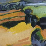 Rosie Phipps, Fauvist Cotswolds 4